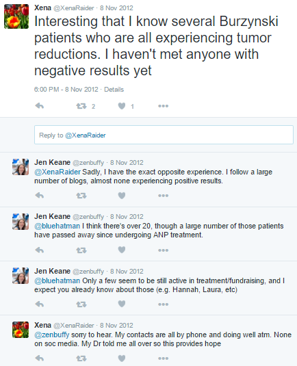 The OTHER Burzynski Patient Group | Their silence is deafening